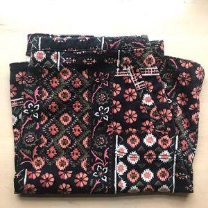 Hollister floral a-line skirt